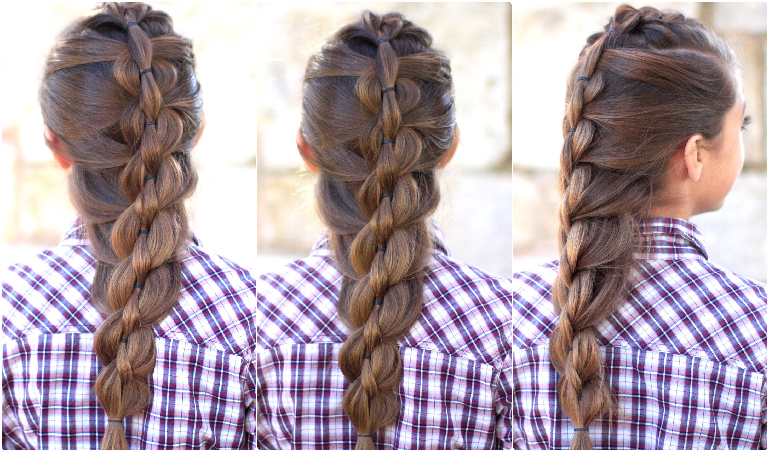 Widely Used Twisted Mermaid Braid Hairstyles Pertaining To Try This Unique Mermaid Pull Thru Braid For Different (View 17 of 20)