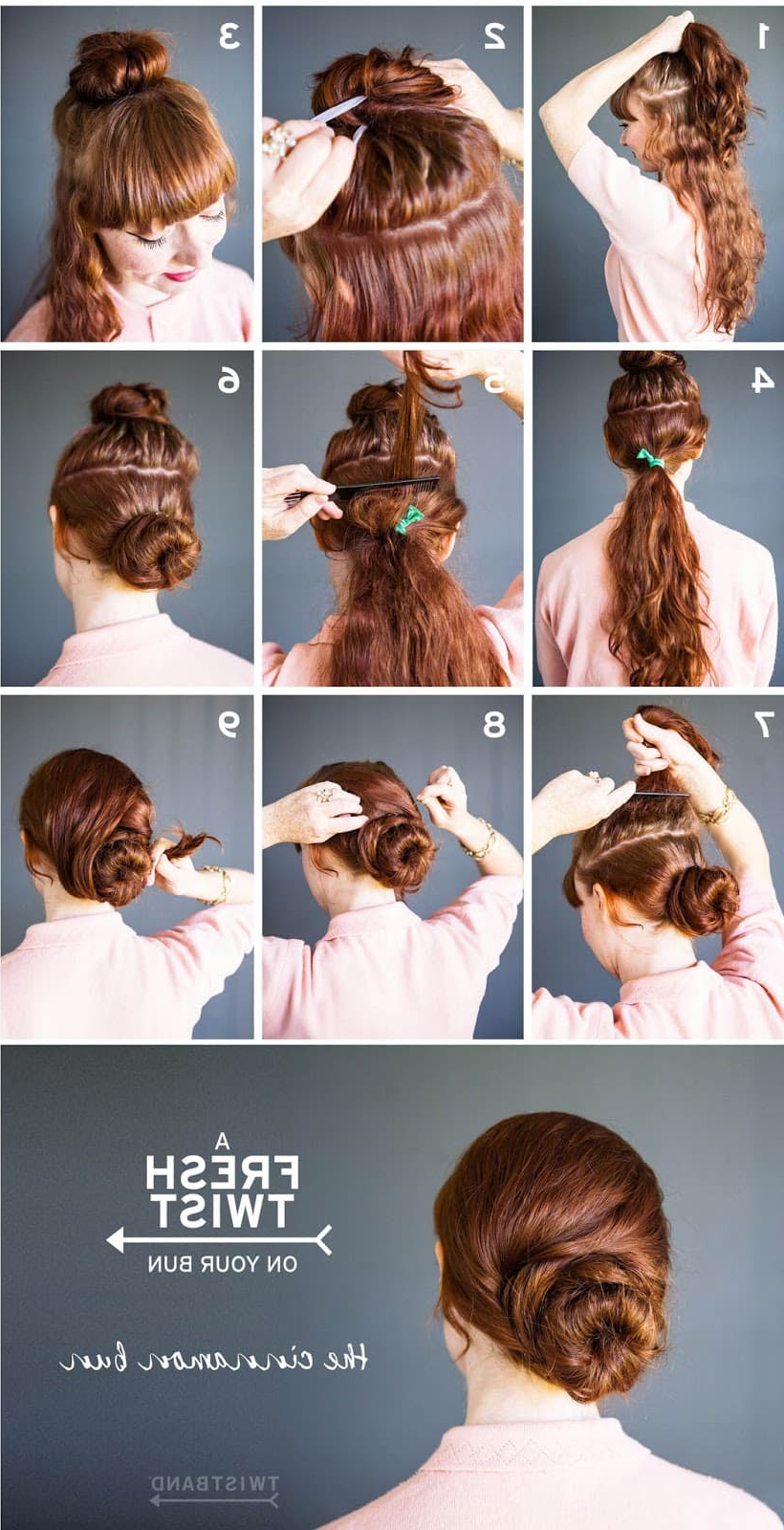 Womens Hairstyles In Well Known Cinnamon Bun Braided Hairstyles (View 20 of 20)