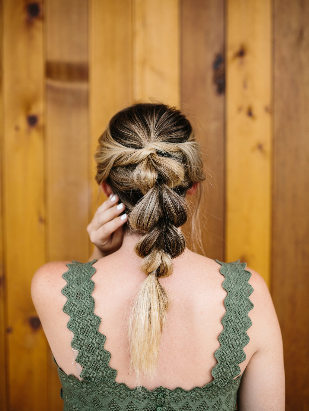 Wonder Woman Braid Tutorial – The Effortless Chic Intended For Popular Thick And Luscious Braid Hairstyles (View 8 of 20)