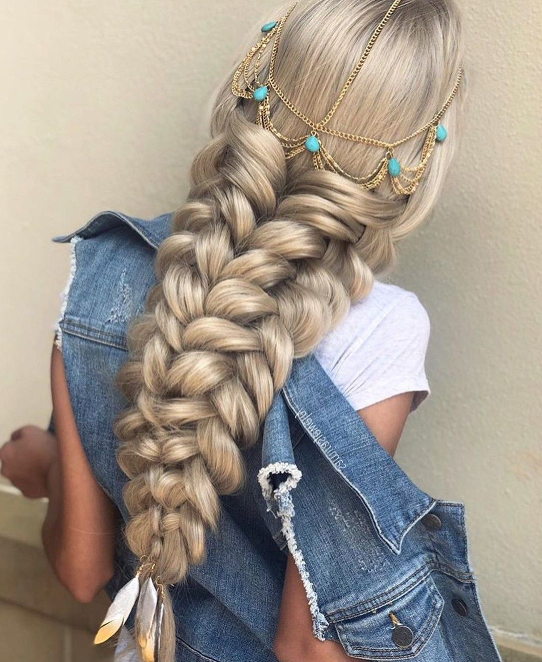 Wooooww Cool Idea For Princess Jasmine Hair (View 2 of 20)