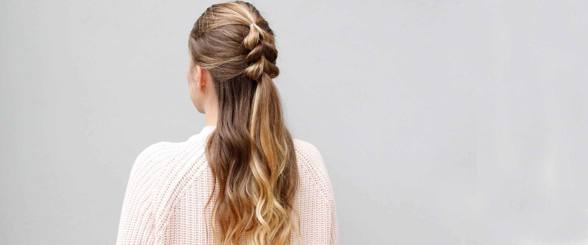 You Need To Try This Half Up Pull Through Braid Now (Gallery 11 of 20)