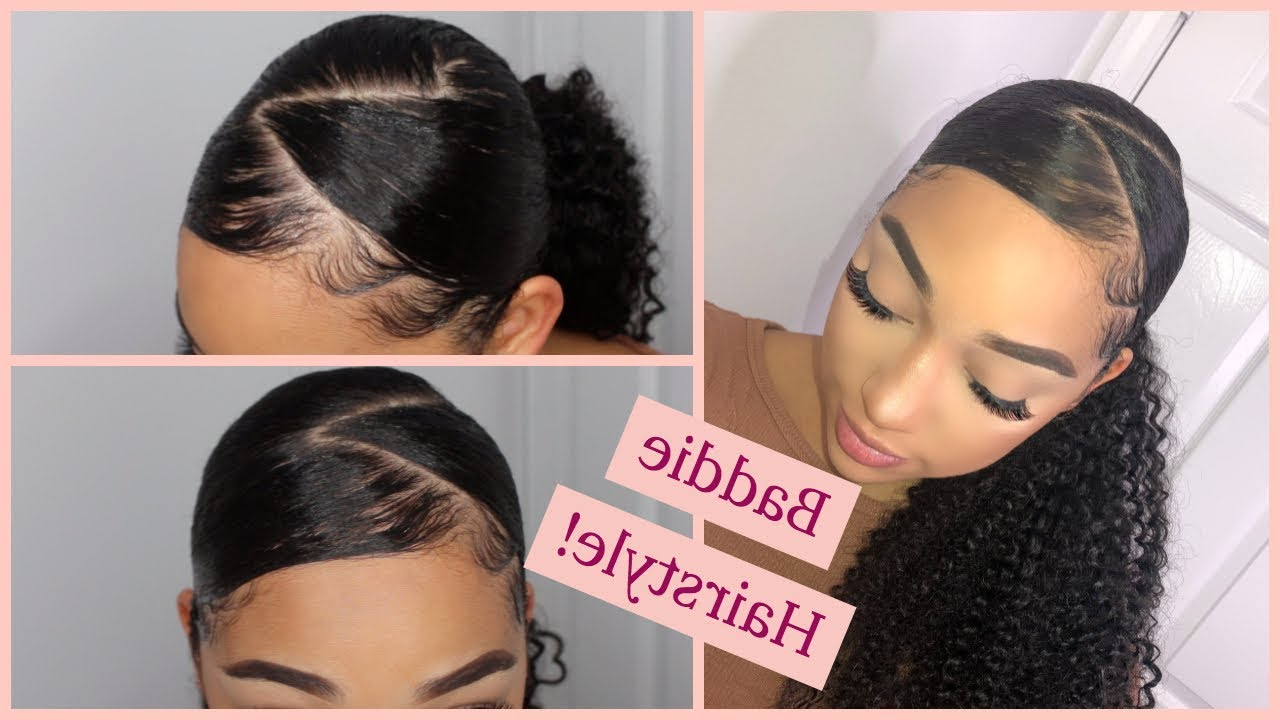 Featured Photo of Zig Zag Ponytail Updo Hairstyles