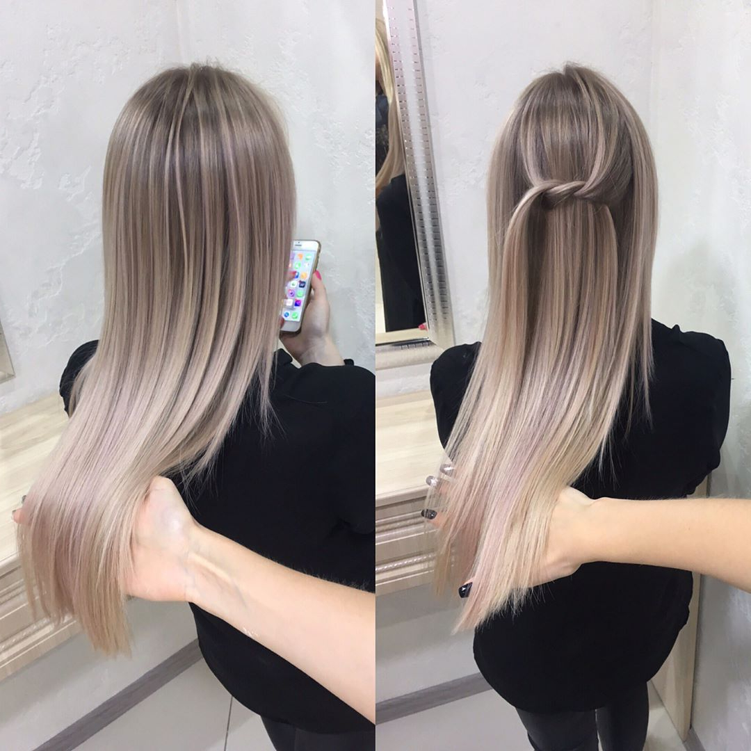 20 Adorable Ash Blonde Hairstyles To Try: Hair Color Ideas 2019 Throughout Most Up To Date Ash Bronde Ombre Hairstyles (View 14 of 20)