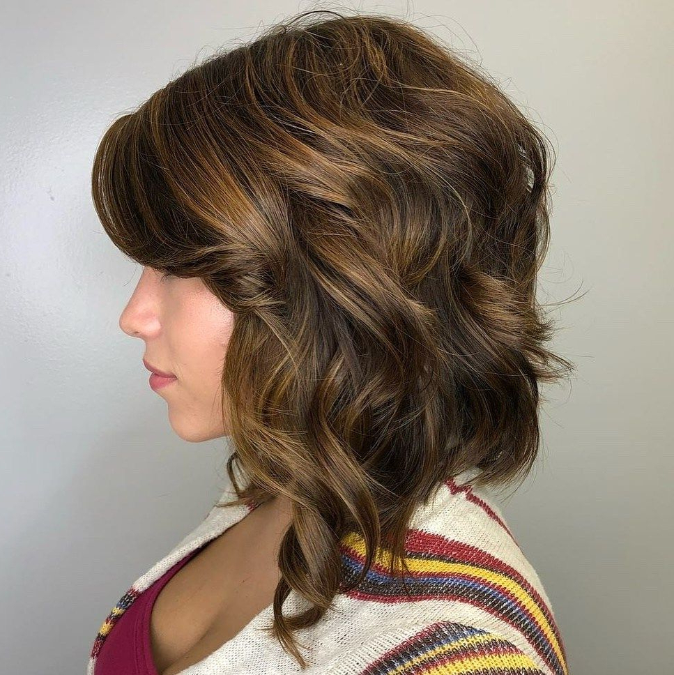 20 Ways To Make A Long Inverted Bob All Your Own In 2019 With Regard To Popular Braided High Bun Hairstyles With Layered Side Bang (View 2 of 20)