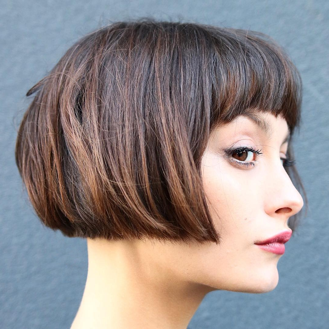 2019 Ragged Bob Asian Hairstyles With 40 Most Flattering Bob Hairstyles For Round Faces  (View 1 of 20)