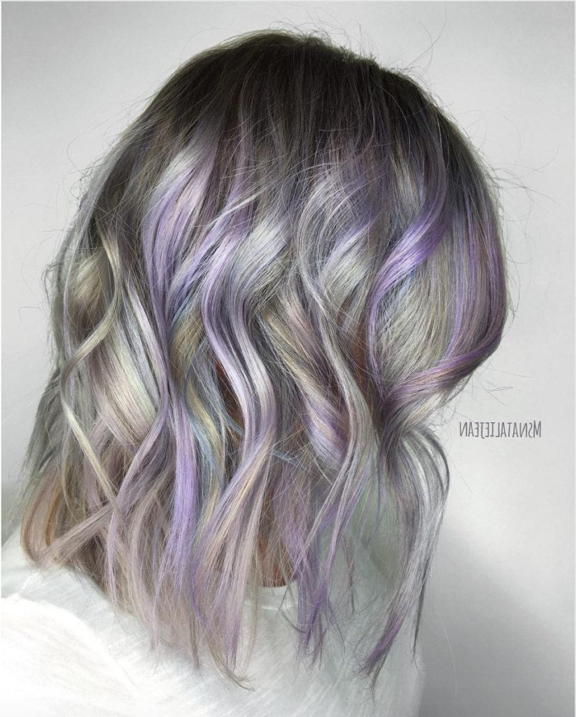 23 Stunning Purple Hair Color Ideas For (View 10 of 20)