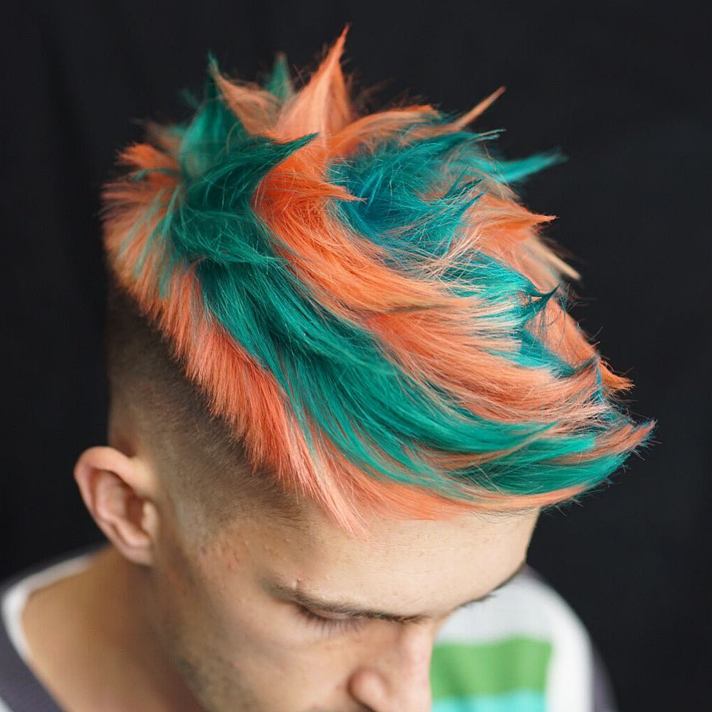 23 Top Sign Of Men's Latest Hair Color Ideas (View 4 of 20)