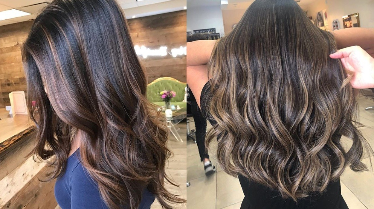 26 Best Balayage Hair Colours And Types For Women In 2019 Throughout Current Long Waves Hairstyles With Subtle Highlights (View 12 of 20)