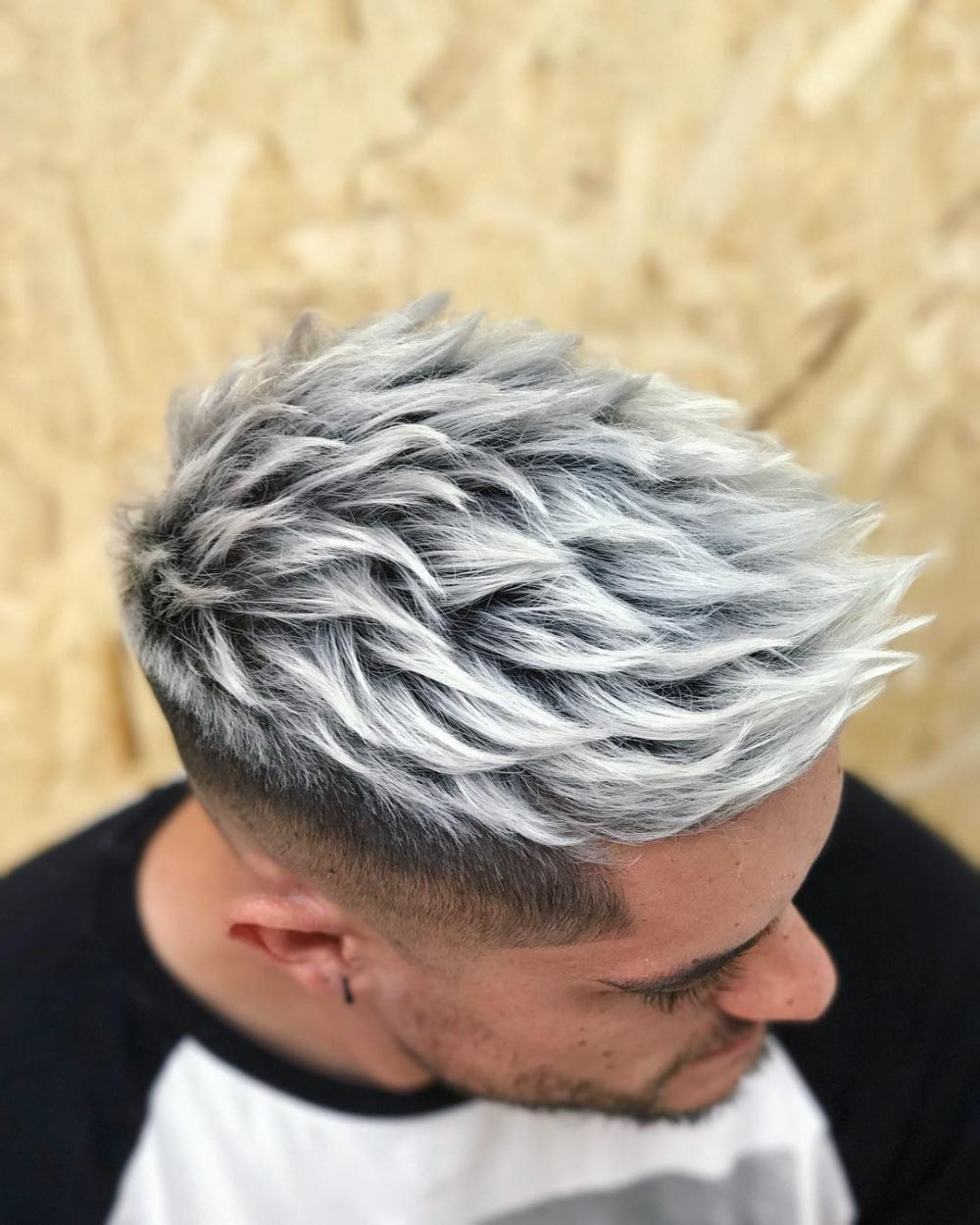 29 Coolest Men's Hair Color Ideas In 2019 Pertaining To Most Recent Icy Purple Mohawk Hairstyles With Shaved Sides (View 20 of 20)