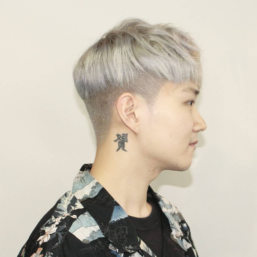 30 Brand New Haircuts And Hairstyles For Korean Man 2019 With Regard To Most Recent Cool Silver Asian Hairstyles (Gallery 7 of 20)