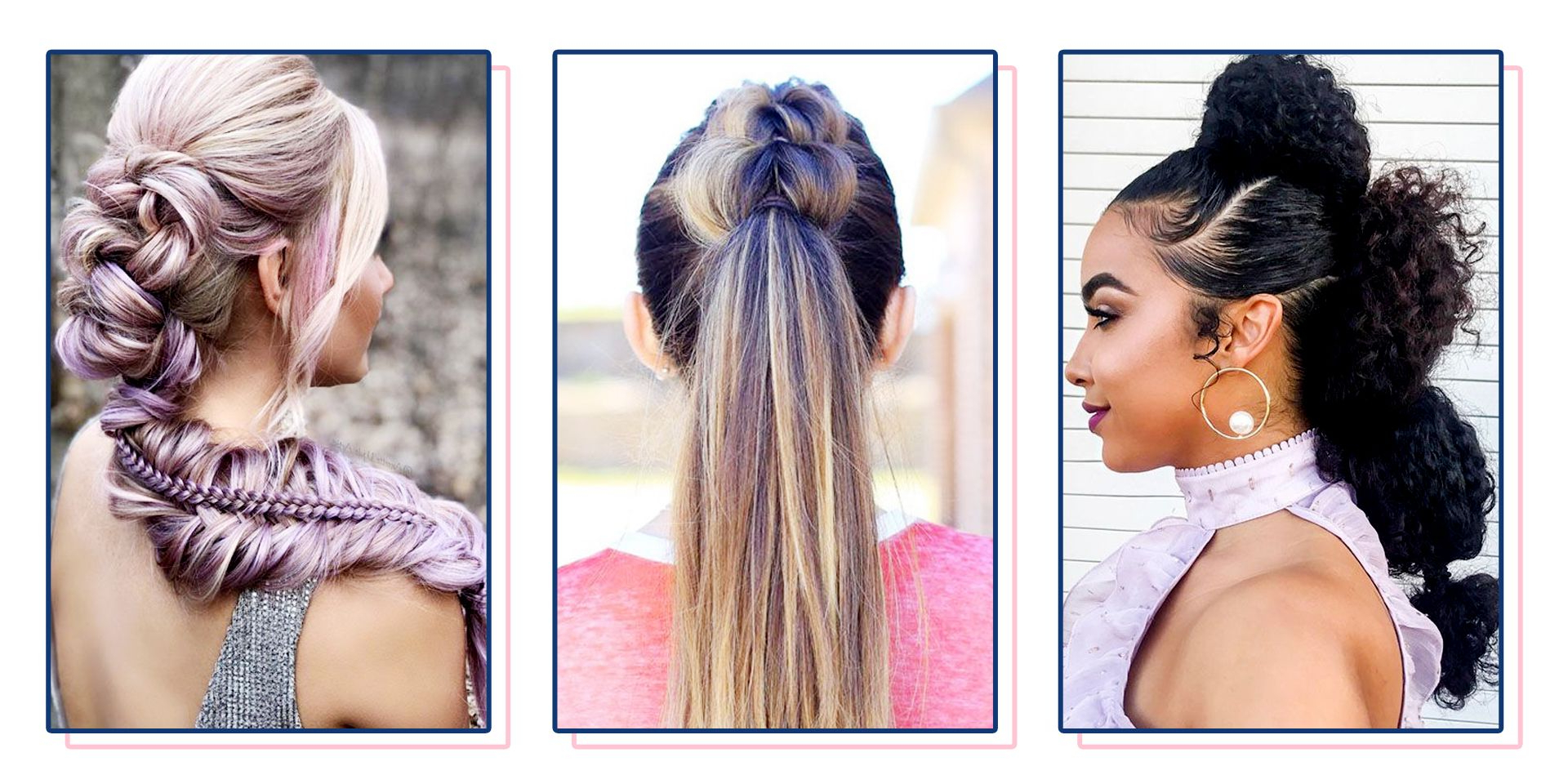 40 Best Prom Updos For 2019 – Easy Prom Updo Hairstyles For 2020 High Bun With Twisted Hairstyles Wrap And Graduated Side Bang (View 2 of 20)
