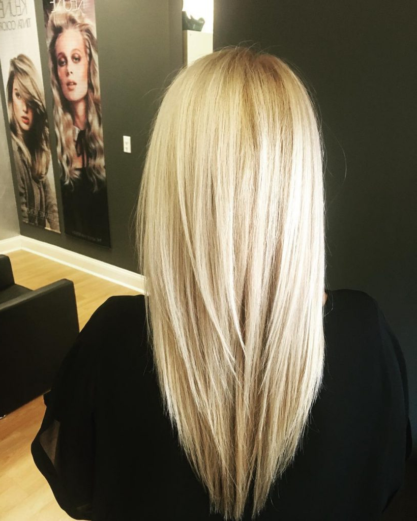 53 Gorgeous Long Layered Hairstyles – Prochronism Regarding Current Sleek Straight And Long Layers Hairstyles (View 8 of 20)