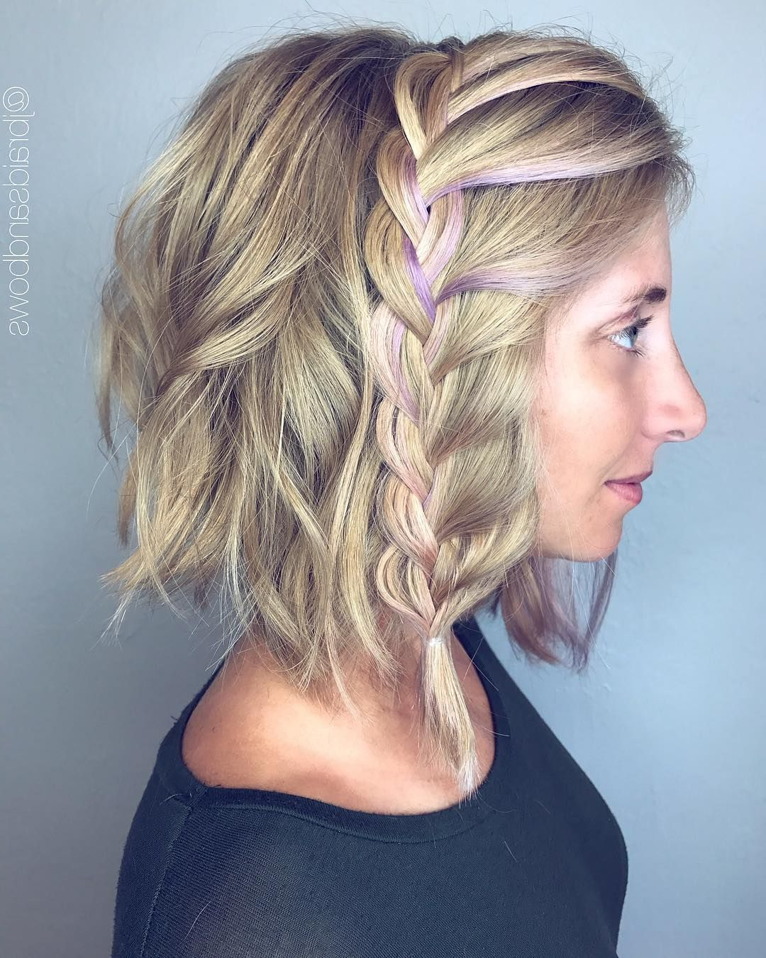 70 Best Medium Length Hairstyles – Shoulder Length Haircuts With 2019 Braided Shoulder Length Hairstyles (View 2 of 20)
