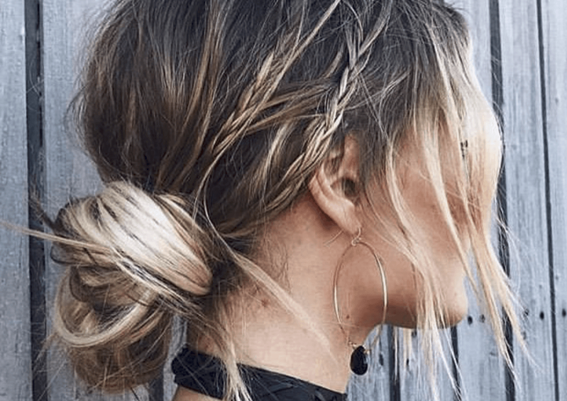 Adorable Bun Hairstyles You Need To Try Asap – Hairstyle On Throughout Fashionable Messy High Ponytail Hairstyles With Teased Top (View 9 of 20)