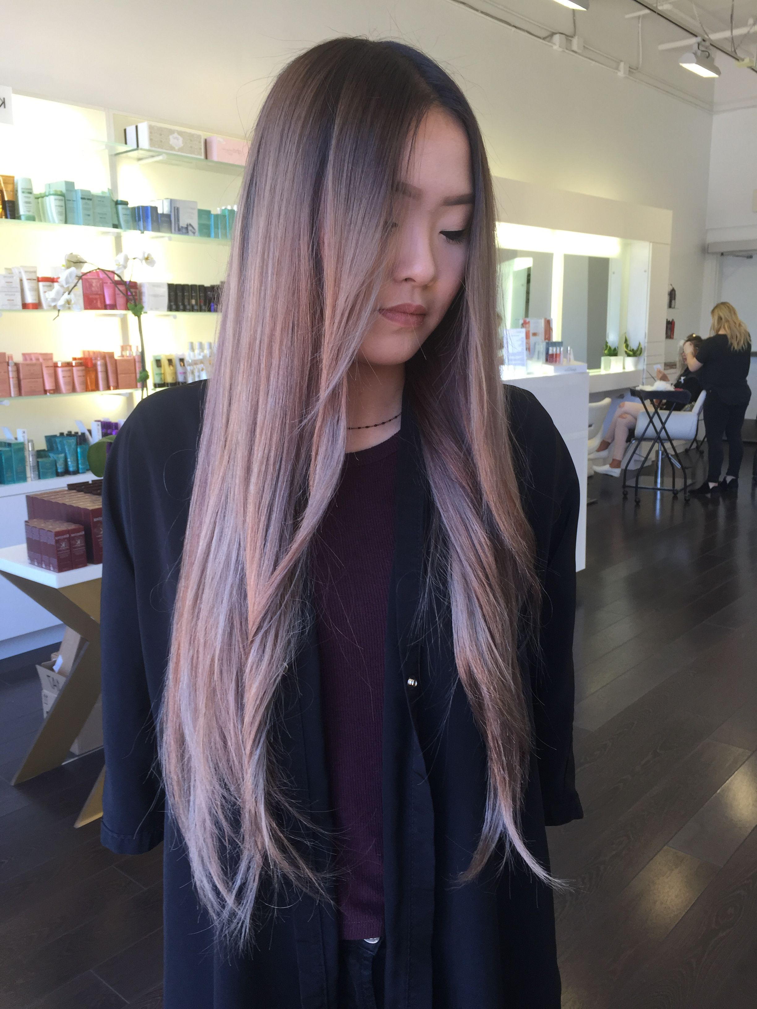 Asian Hair Dye Within Current Neon Long Asian Hairstyles (View 3 of 20)