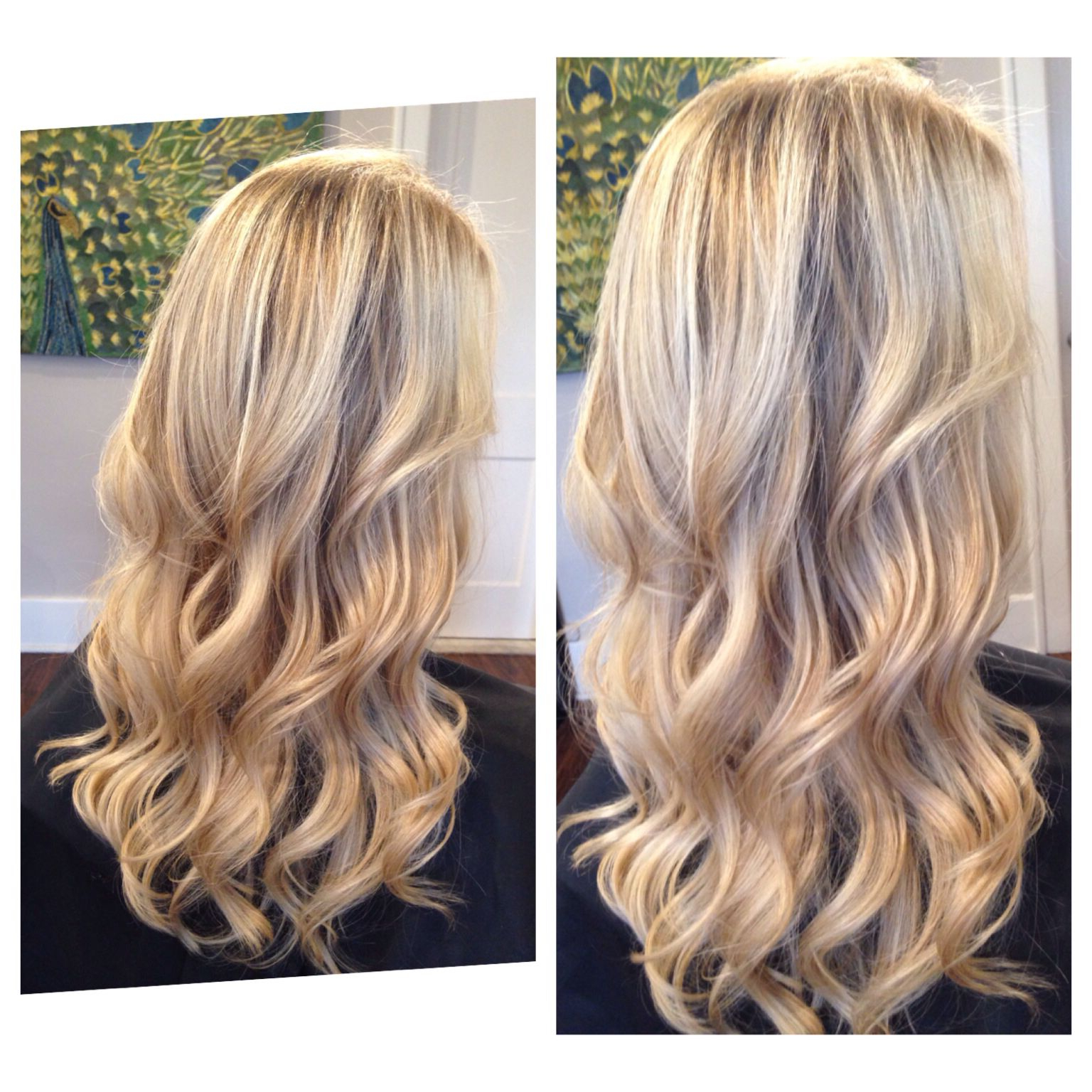 Blonde Dimension And Blonding Magic Waterfall Cascading For 2020 Cascading Silky Waves Hairstyles (View 2 of 20)