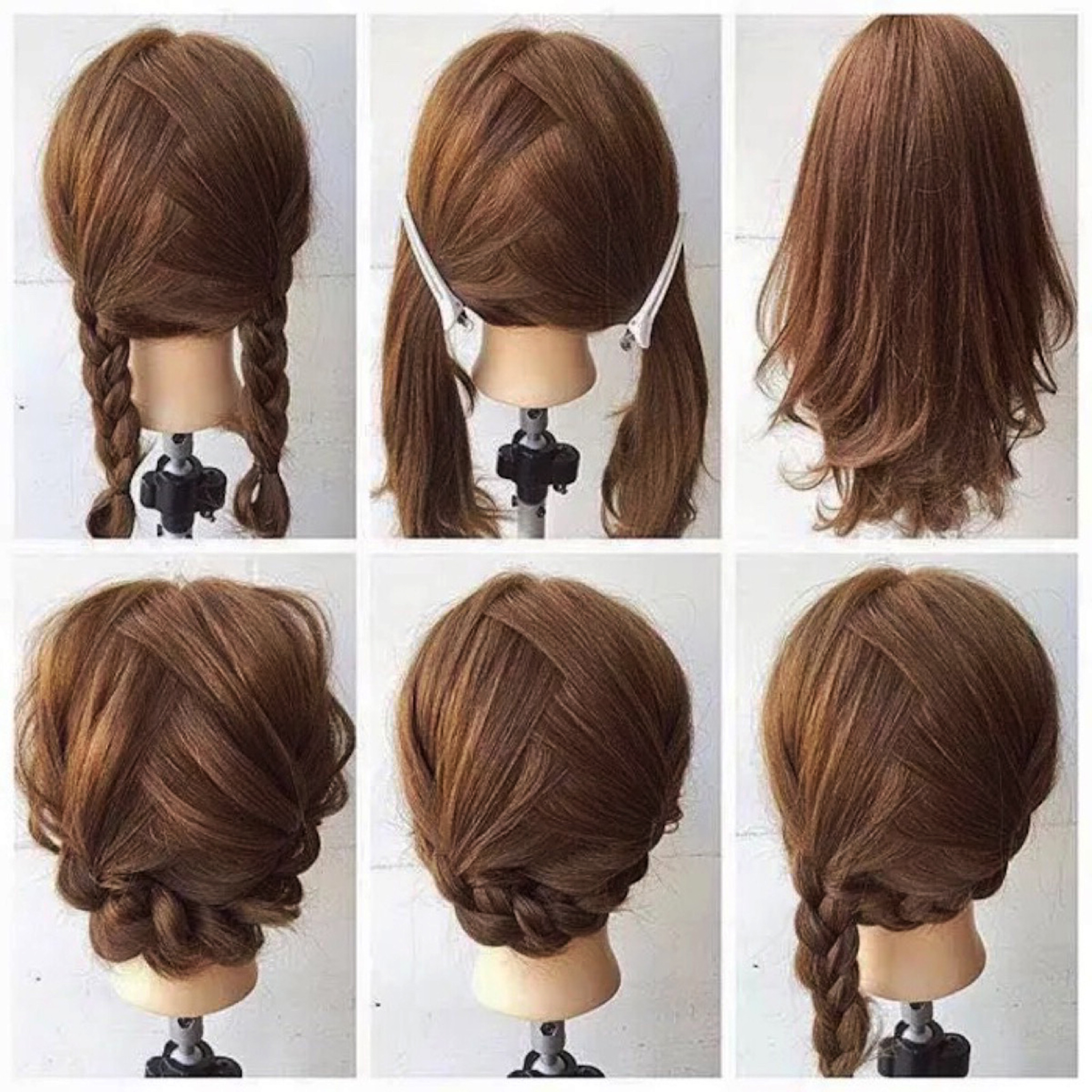 Braided Hairstyles For Mixed Hair Tags : Braided Hairstyles For Favorite Braided Shoulder Length Hairstyles (View 6 of 20)