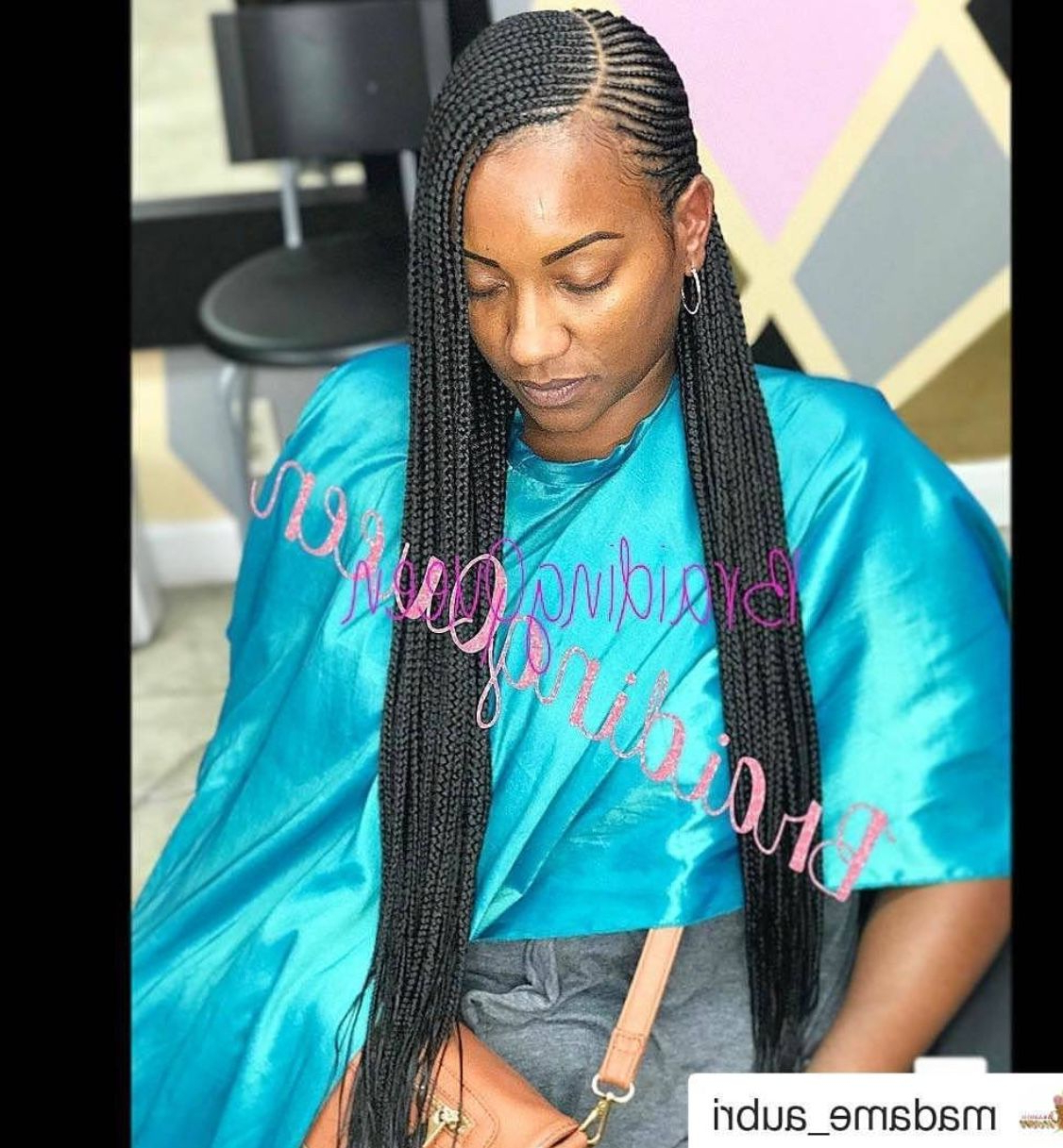 Braids, Hair Styles Within Most Current Mermaid Waves Hairstyles With Side Cornrows (View 4 of 20)