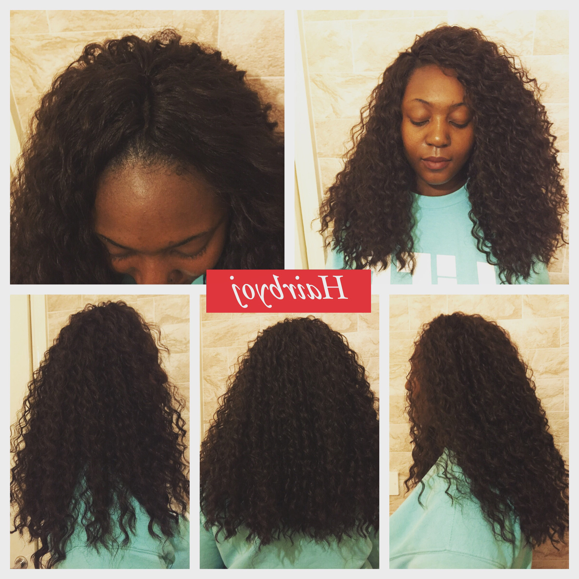 Chest Length Deep Wave Crochet Braids With Versatile Pertaining To Best And Newest Loose Waves Hairstyles With Twisted Side (View 9 of 20)