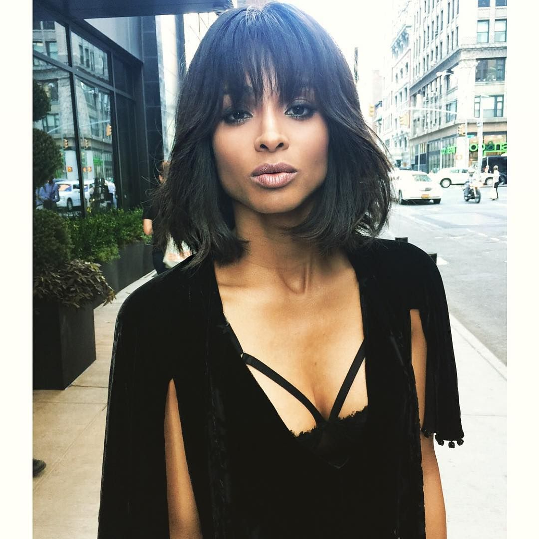 Ciara – Shaggy Long Bob With Fringe In  (View 5 of 20)
