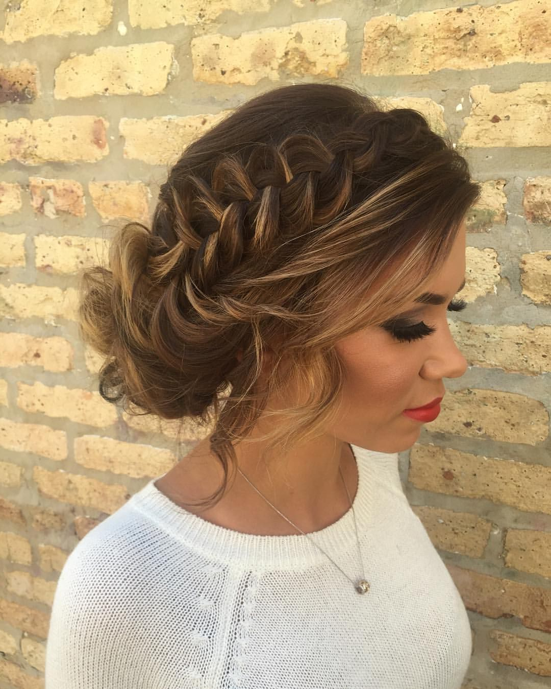 Featured Photo of Braided Bun Hairstyles With Puffy Crown