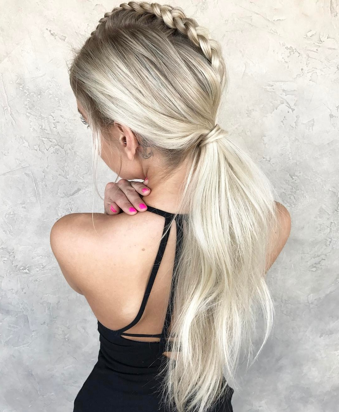 Current High Looped Ponytail Hairstyles With Hair Wrap With The 20 Most Alluring Ponytail Hairstyles (View 5 of 20)