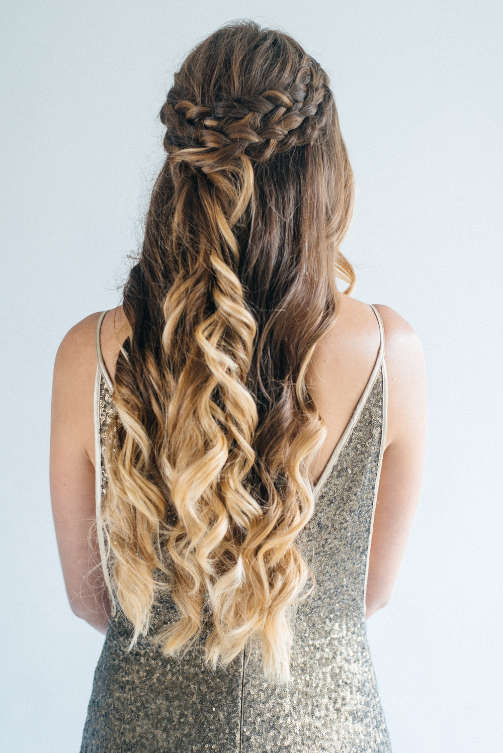 Current Long Half Updo Hairstyles With Accessories Inside Inspiration For Half Up Half Down Wedding Hair With Tousled (View 11 of 20)