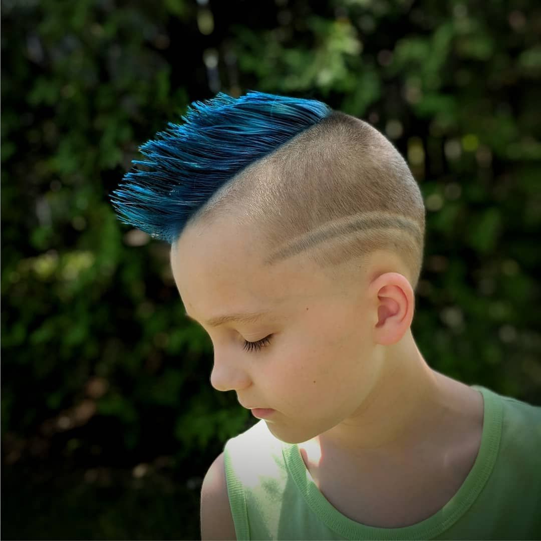 Current Turquoise Side Parted Mohawk Hairstyles Pertaining To Pin On V Hair Style / Hawks (View 5 of 20)