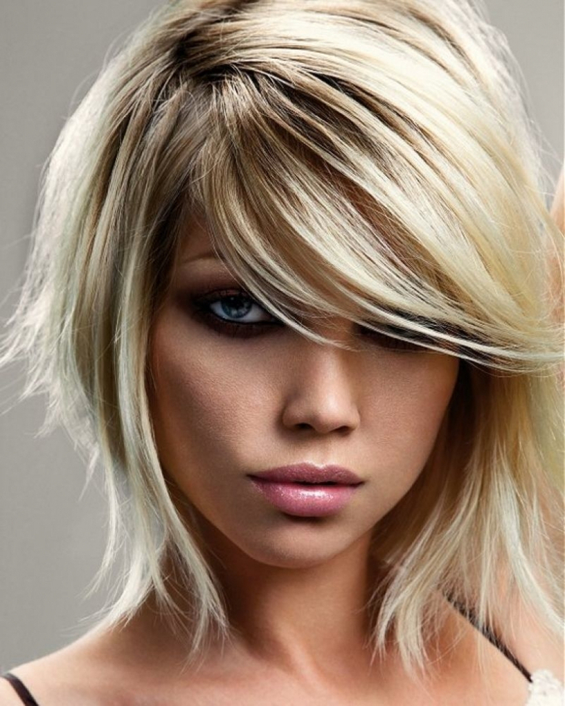 Cute Hairstyles For Short Curly Hair With Bangs Image 4 Of Throughout Popular Turned And Twisted Pigtails Hairstyles With Front Fringes (Gallery 9 of 20)
