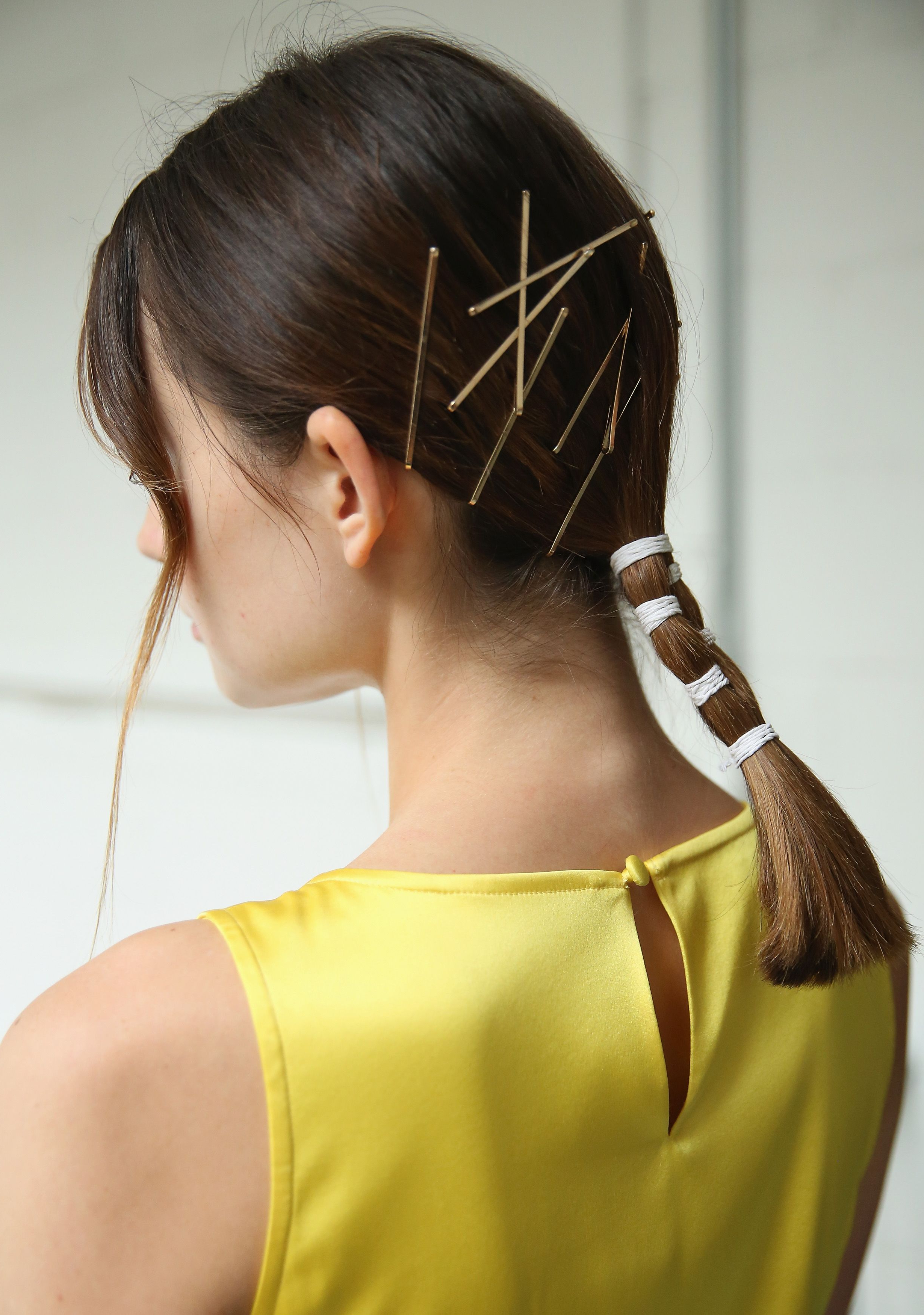 Easy Ponytail Ideas For Fall Throughout Well Known High Looped Ponytail Hairstyles With Hair Wrap (View 6 of 20)