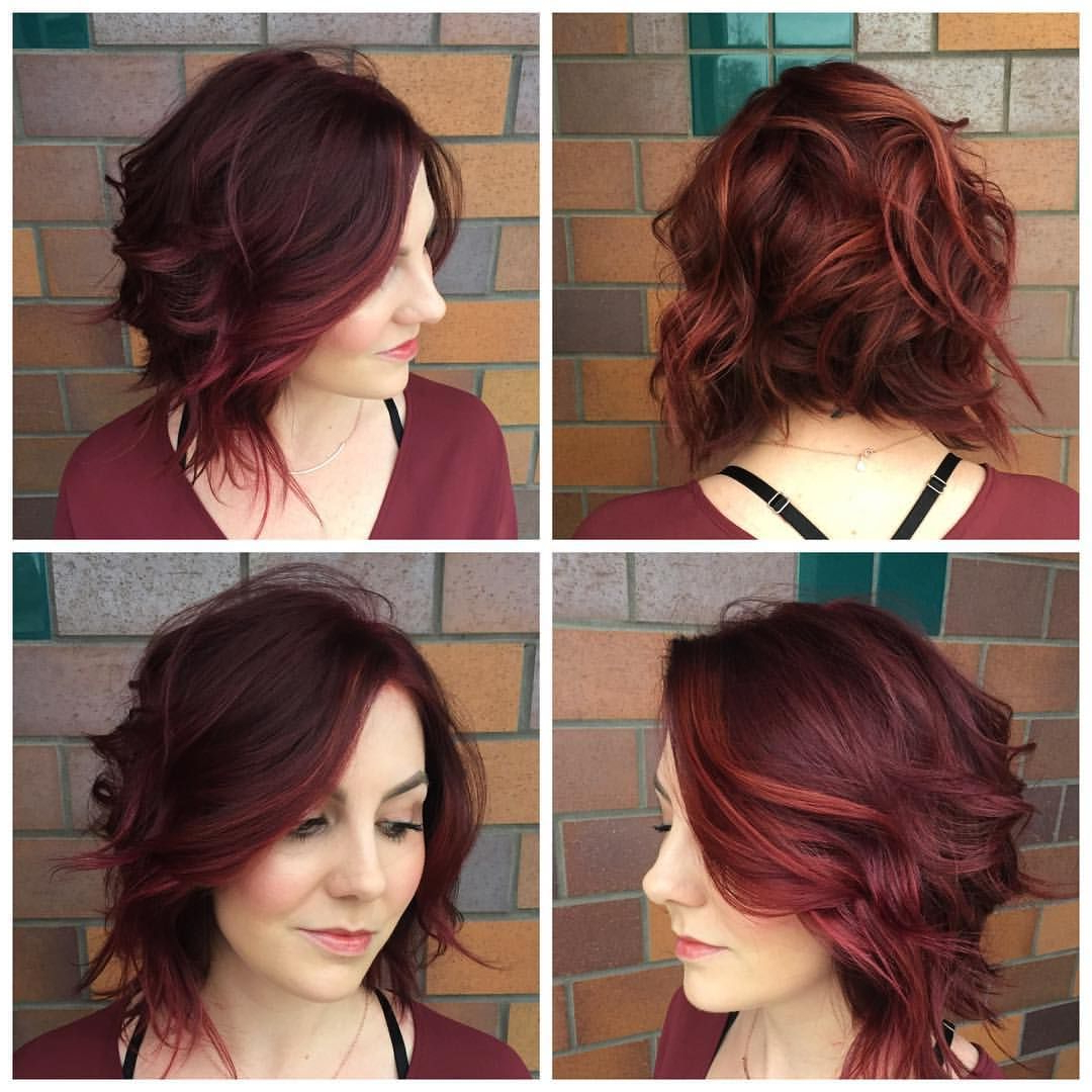 Edgy Regarding Best And Newest Pink Asymmetrical A Line Bob Hairstyles (View 10 of 20)