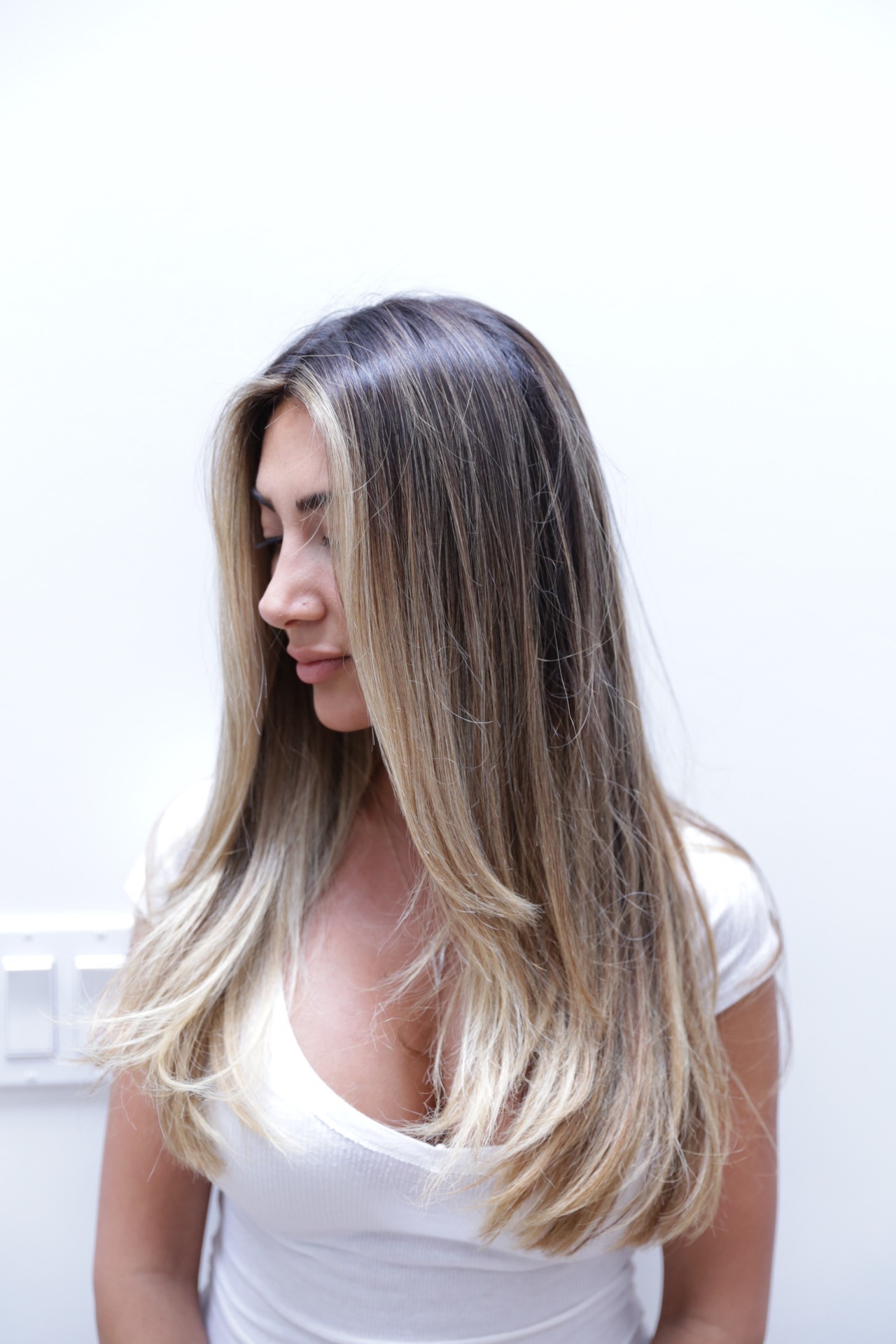 Face Frame Highlights – Hair Color Rehab Within Well Known Wavy Lob Hairstyles With Face Framing Highlights (View 7 of 20)