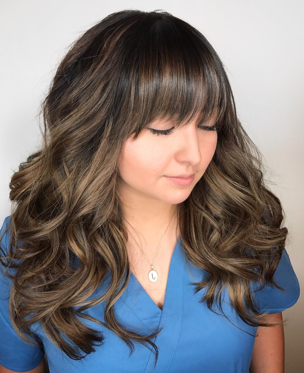 Famous Soft Ombre Waves Hairstyles For Asian Hair Pertaining To 40 Classy Hairstyles For Round Faces To Choose In 2019 (Gallery 12 of 20)