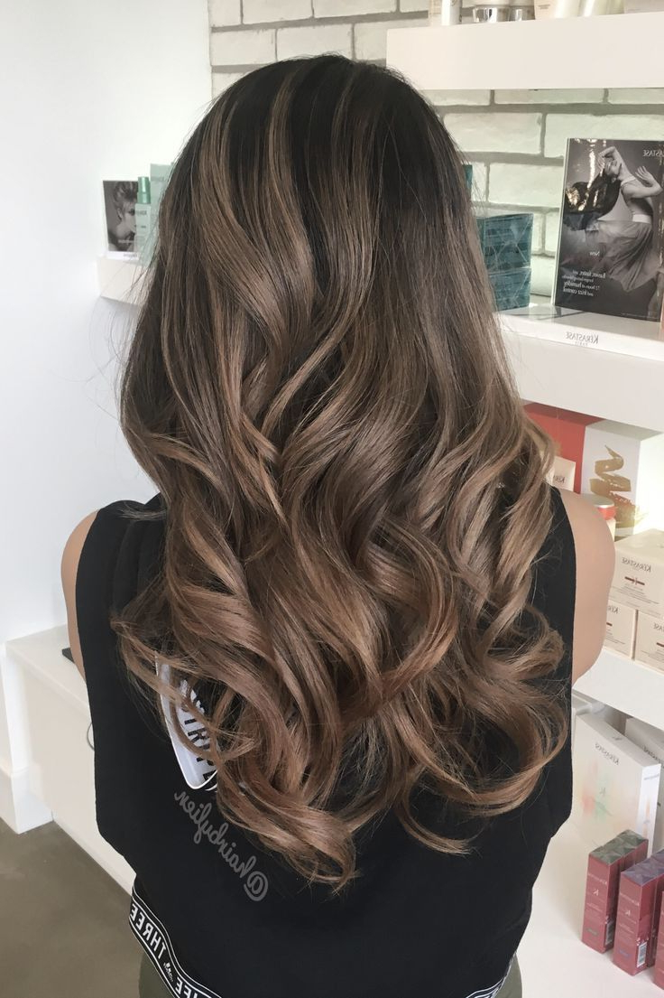 Featured Photo of Soft Ombre Waves Hairstyles For Asian Hair