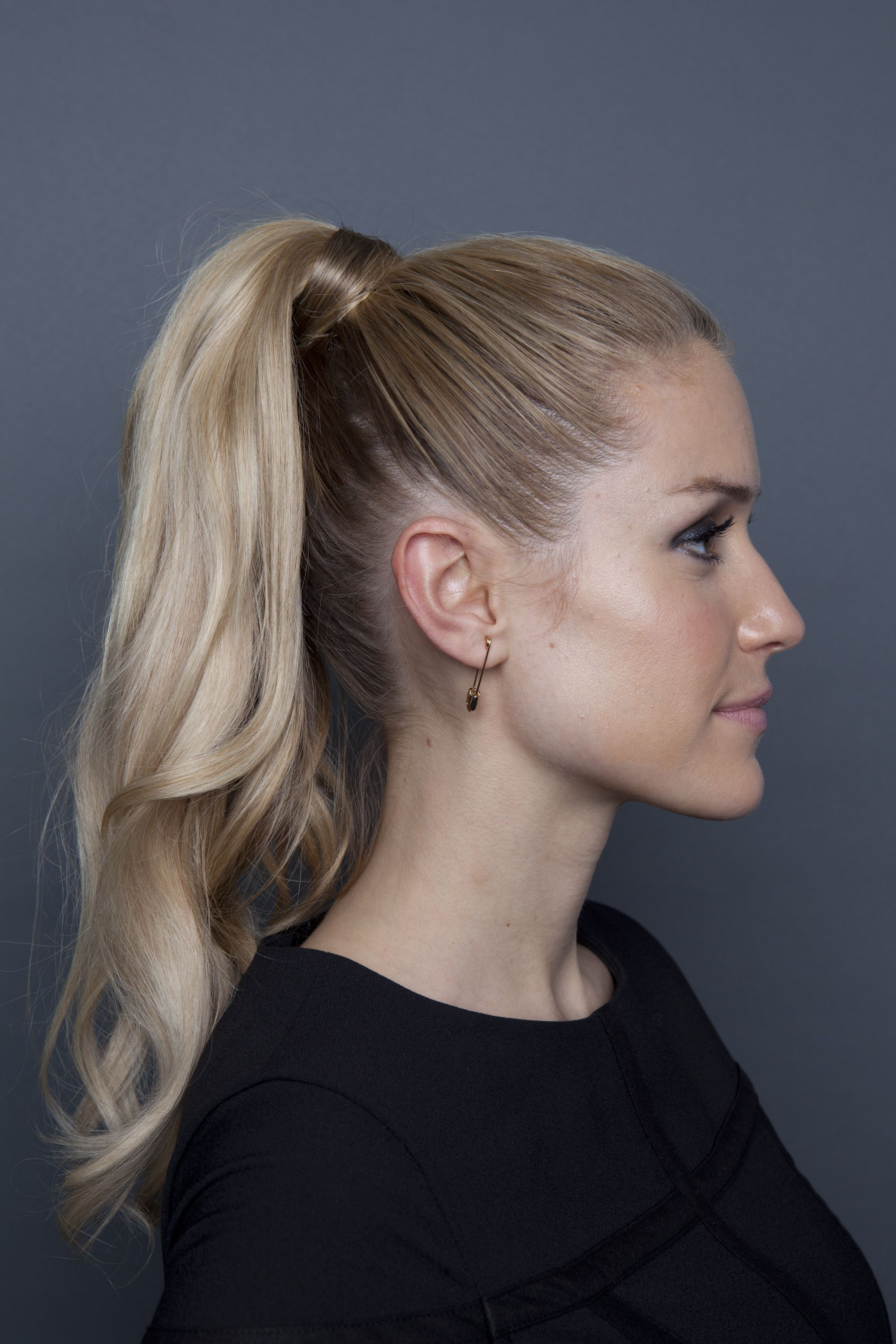 Fashionable High Looped Ponytail Hairstyles With Hair Wrap With Regard To Kristin Cavallari Ponytail (View 11 of 20)