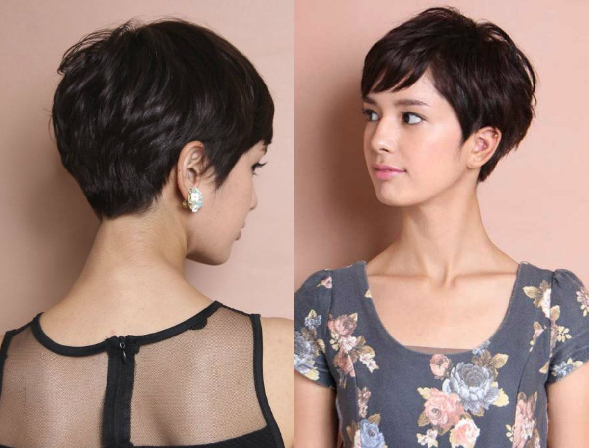 Fashionable High Pixie Asian Hairstyles Regarding Lebendige Geschichteten Pixie Frisuren  (View 7 of 20)
