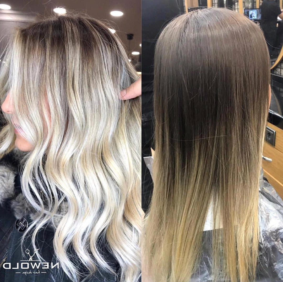 Fashionable Soft Ombre Waves Hairstyles For Asian Hair Inside 50 Hottest Ombre Hair Color Ideas For 2018 – Ombre (Gallery 17 of 20)