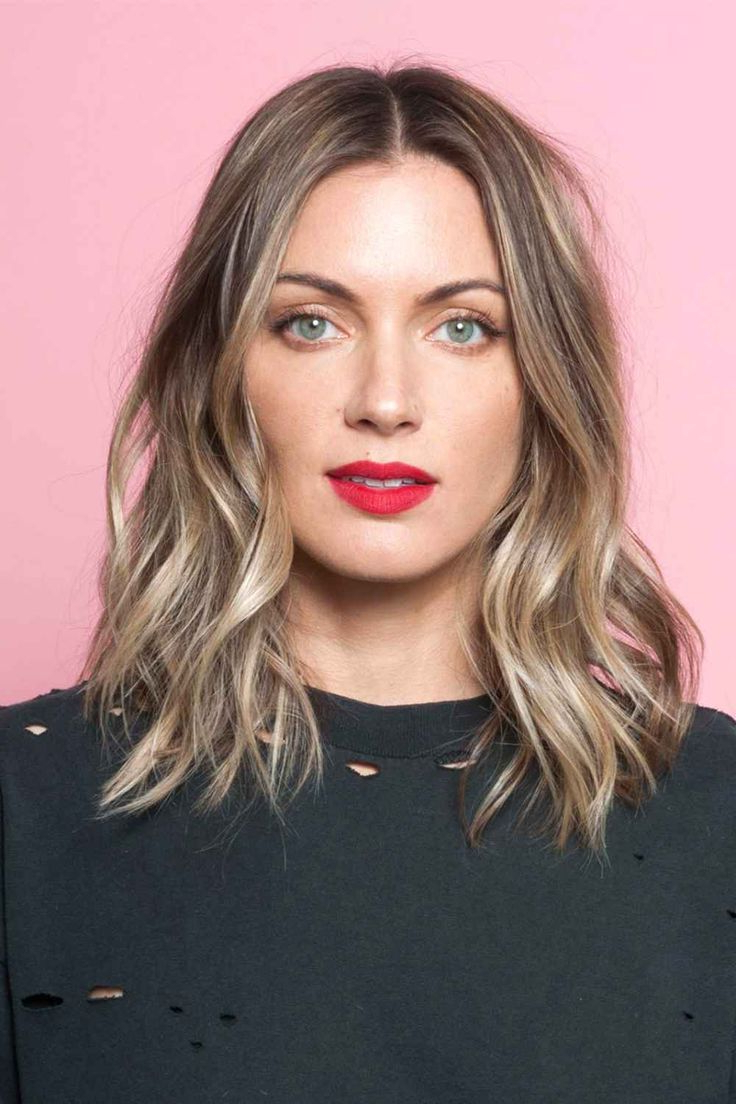 Featured Photo of Wavy Long Bob Hairstyles With Bangs