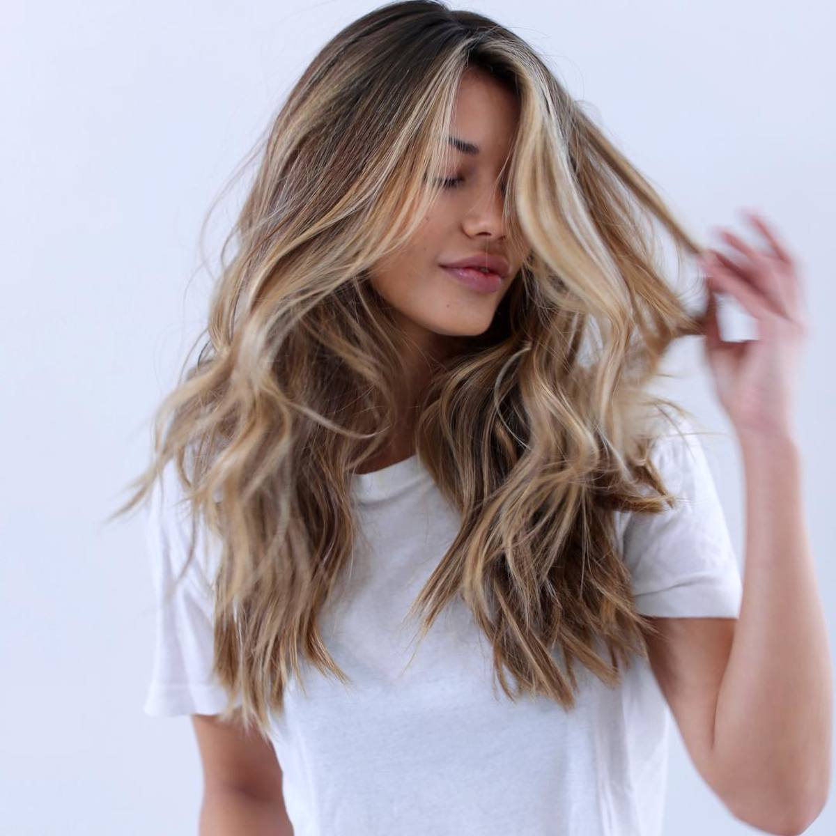 Favorite Long Layered Hairstyles With Added Sheen Inside 13 Texture Sprays That Will Help You Achieve Perfectly Messy (Gallery 17 of 20)