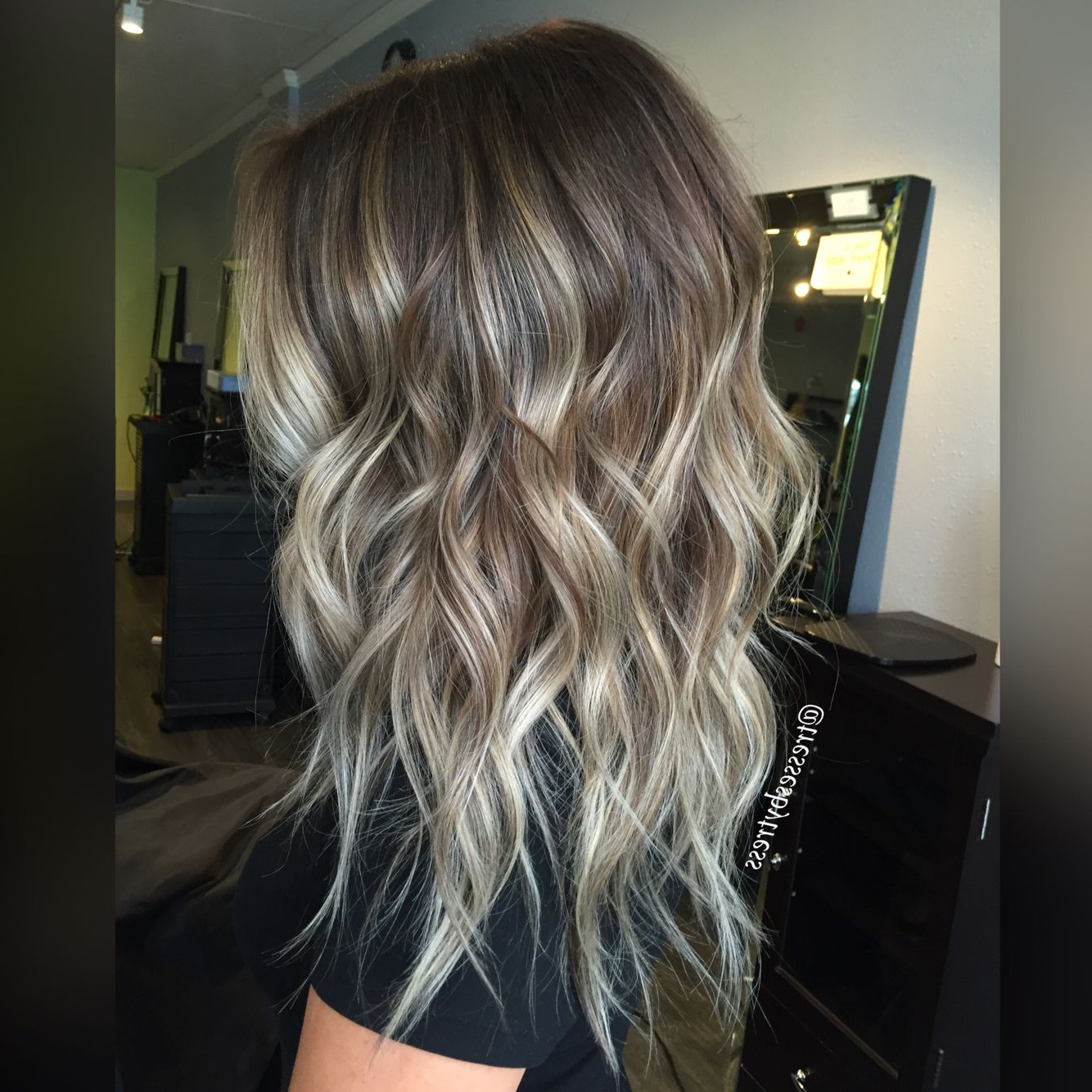 Haar Ideen, Balayage Und With Well Known Ash Bronde Ombre Hairstyles (View 8 of 20)