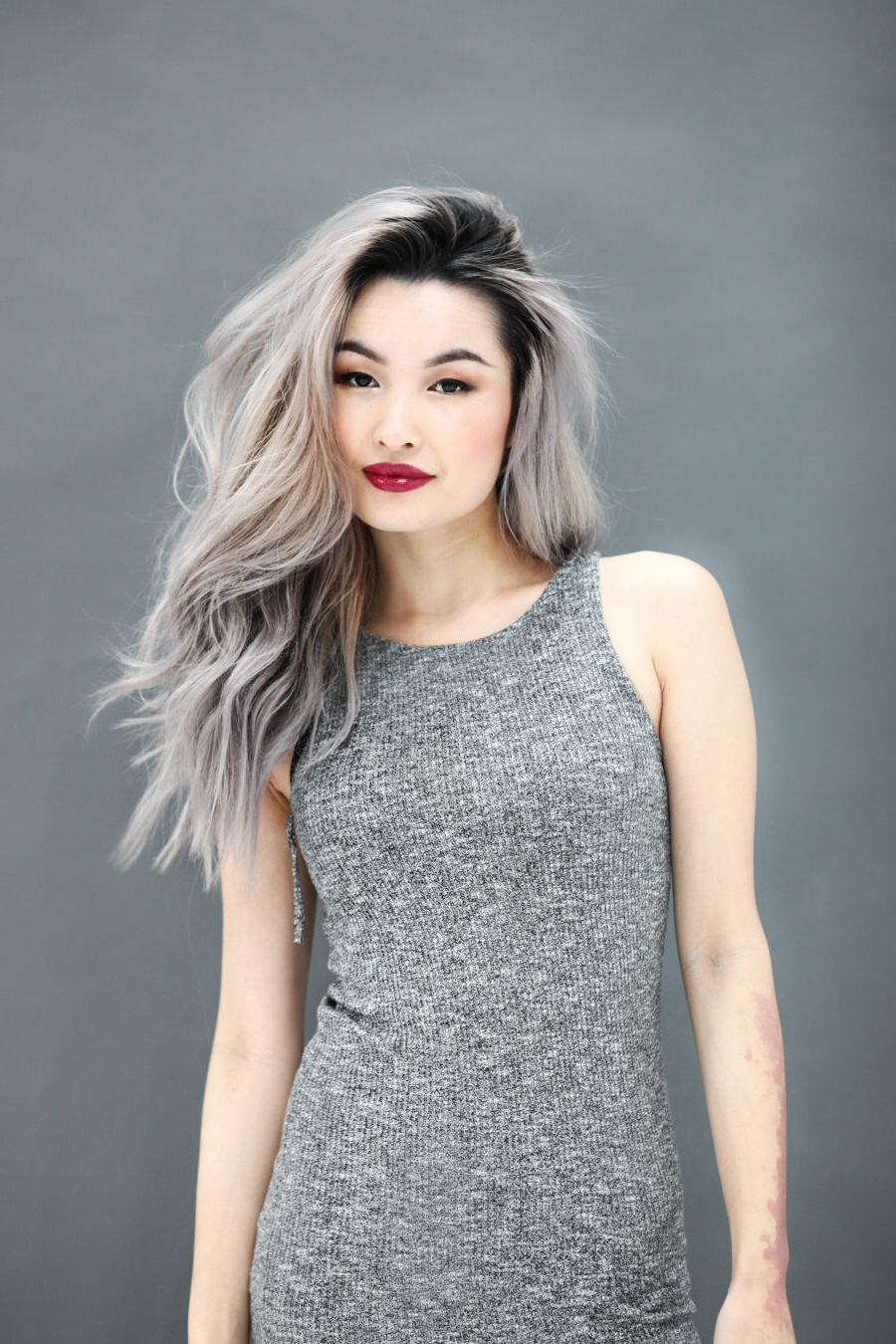 Hair Color Asian, Grey For Favorite Cool Silver Asian Hairstyles (View 2 of 20)