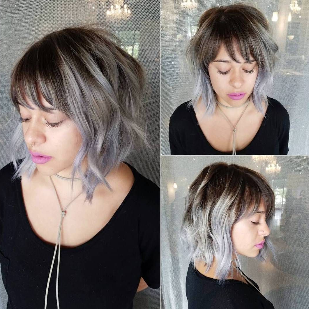 Hair Colors! In 2019 Pertaining To Most Current Choppy Haircuts With Wispy Bangs (View 9 of 20)