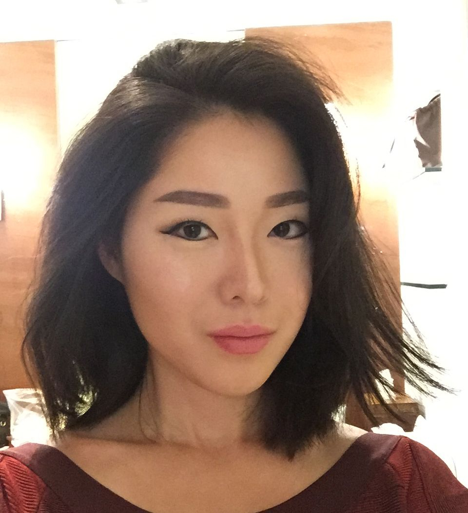 Hair In 2019 Within Widely Used Blunt Bangs Asian Hairstyles (View 6 of 10)