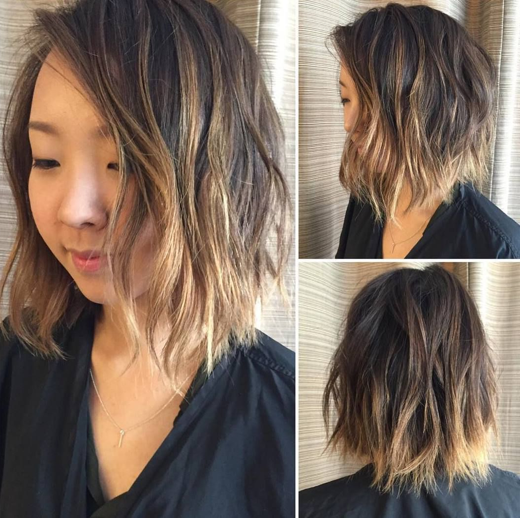 Hair Within Well Liked Soft Ombre Waves Hairstyles For Asian Hair (View 7 of 20)