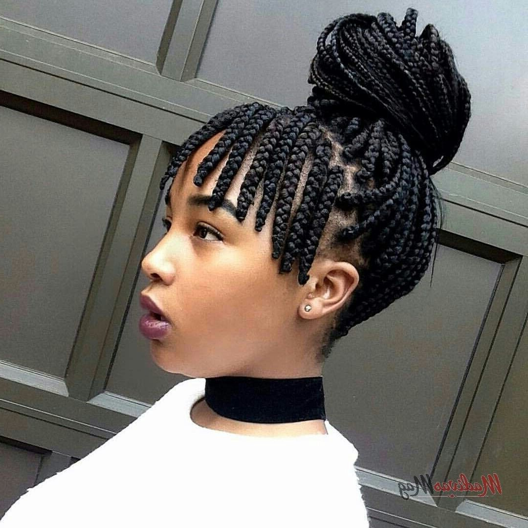 Featured Photo of Turned And Twisted Pigtails Hairstyles With Front Fringes