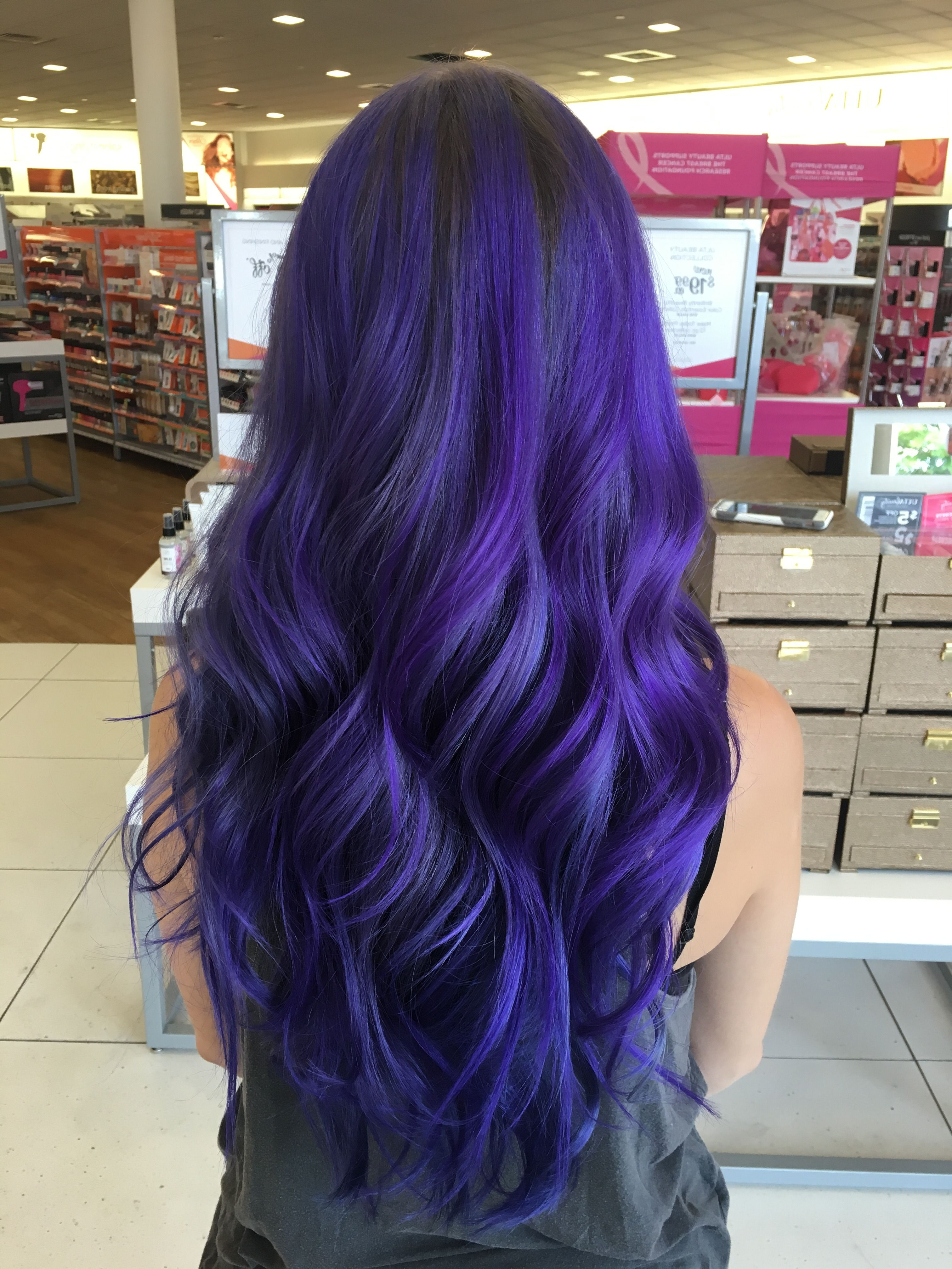 Hairstyles : Blue Ombre Hair Bob Ravishing Galaxy Hair Too For Most Recently Released Ravishing Smoky Purple Ombre Hairstyles (View 18 of 20)