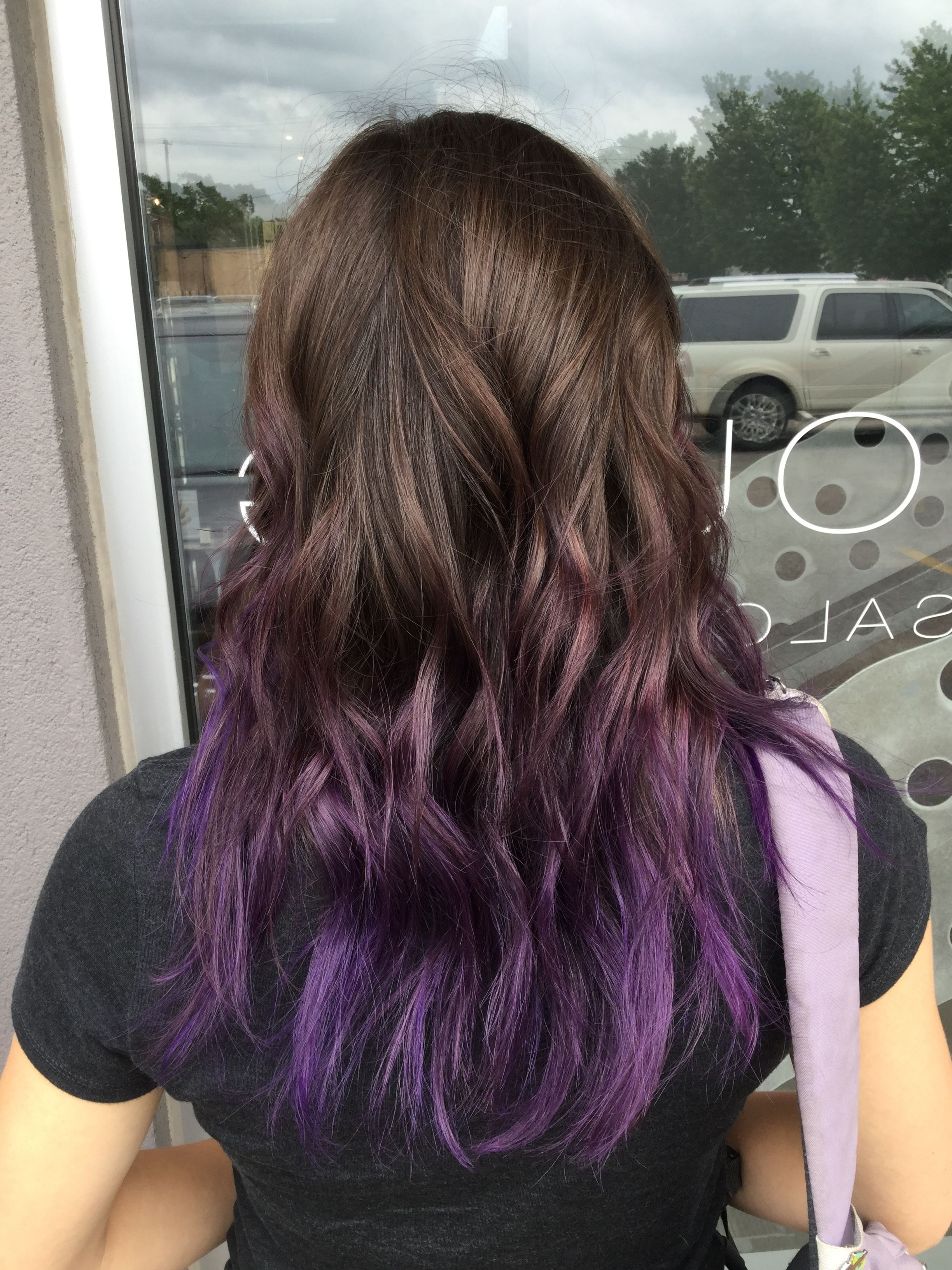 Hairstyles : Purple Hair Short Ravishing 15 Ginger Hair Dye Within Most Recently Released Ravishing Smoky Purple Ombre Hairstyles (View 7 of 20)