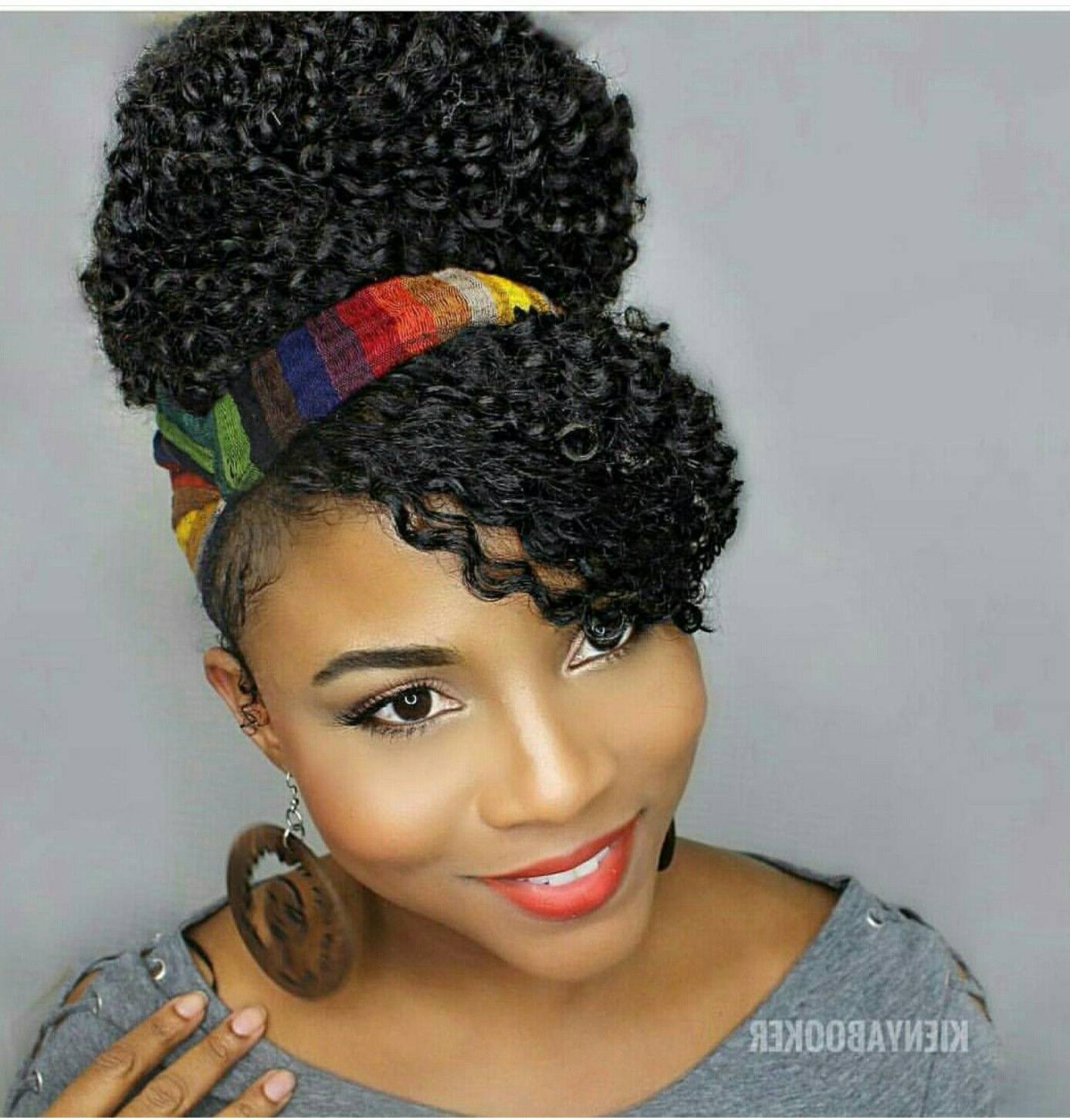 Featured Photo of Hairstyles With Fringes, End Curls And Headband