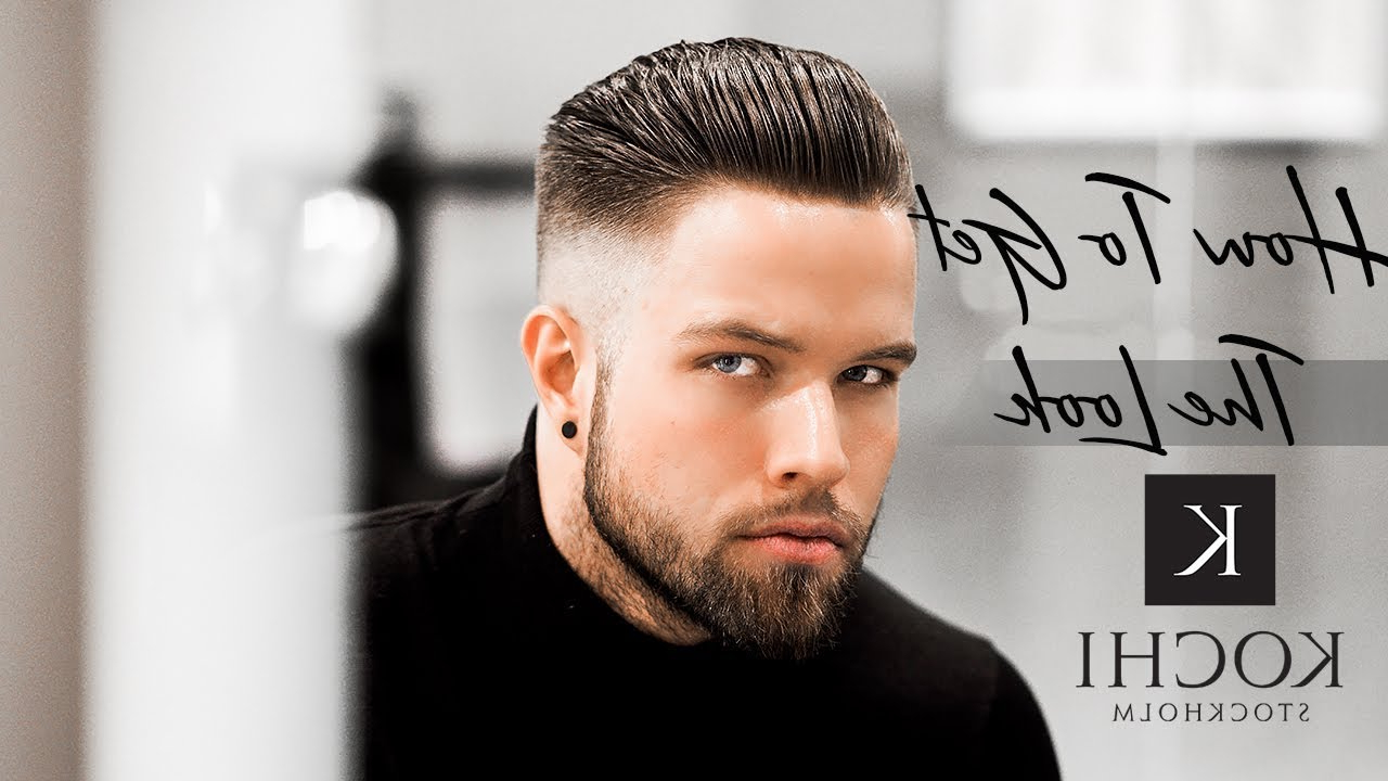 High Skin Fade – Short Slick Back – Best Trendy Haircut For 2017 #new 2017 With Regard To 2020 Long Hairstyles With Slicked Back Top (View 12 of 20)