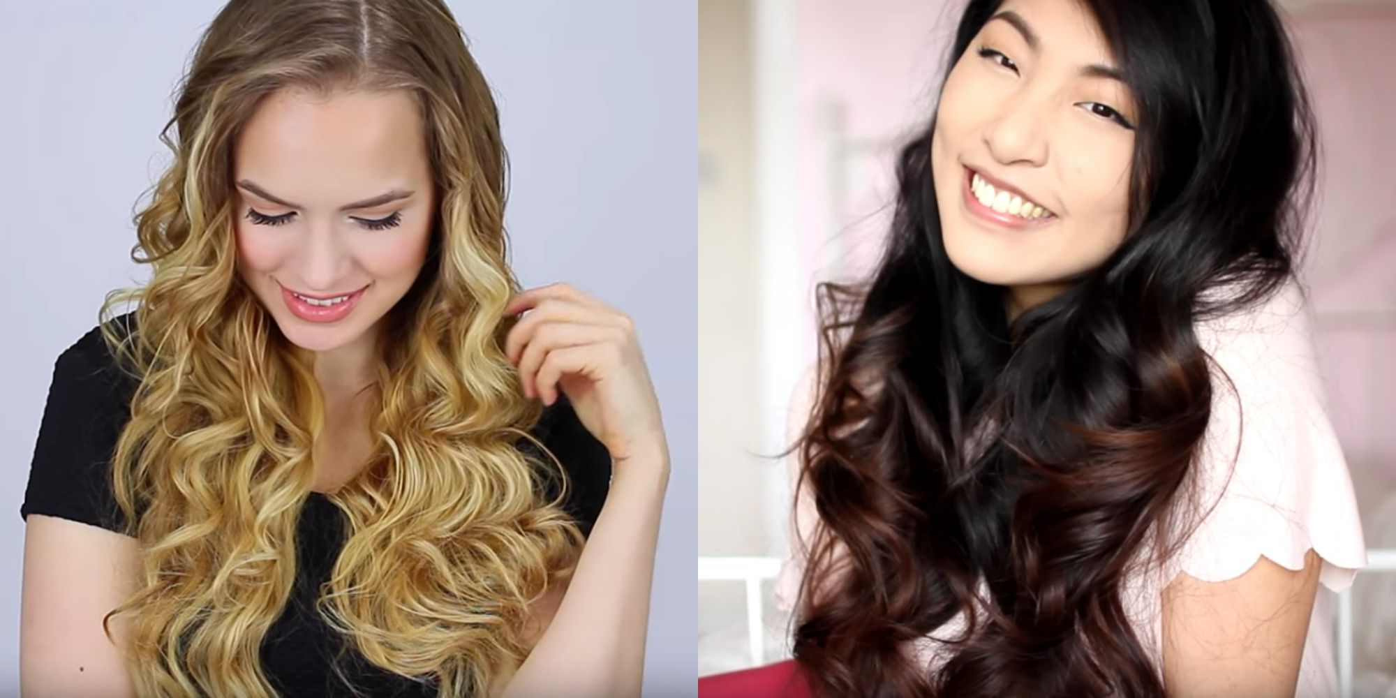 How To Curl Long Hair – Quick And Easy Ways To Curl Long Hair Regarding Well Known Cascading Silky Waves Hairstyles (View 15 of 20)